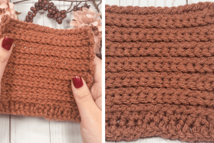 How to Crochet the Camel Stitch