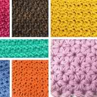 10 Closed Crochet Stitches PERFECT for Scarves, Blankets, or Pillows