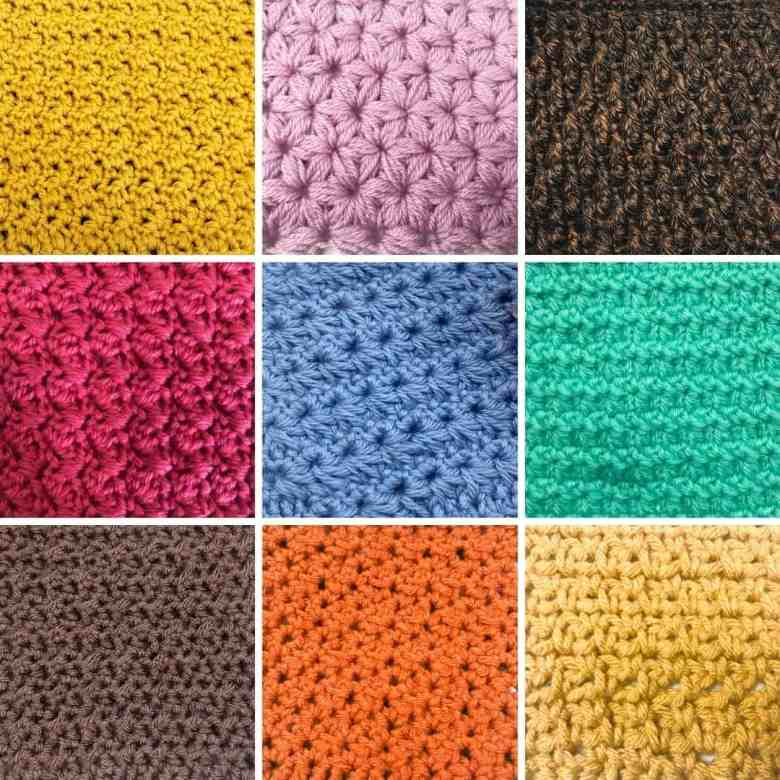 10 Stitches Perfect for Blankets and Scarves