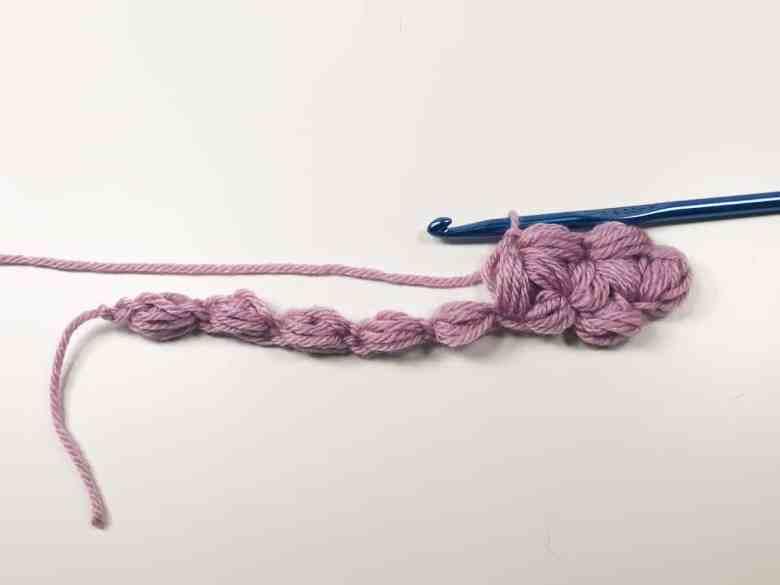 second finished jasmine stitch