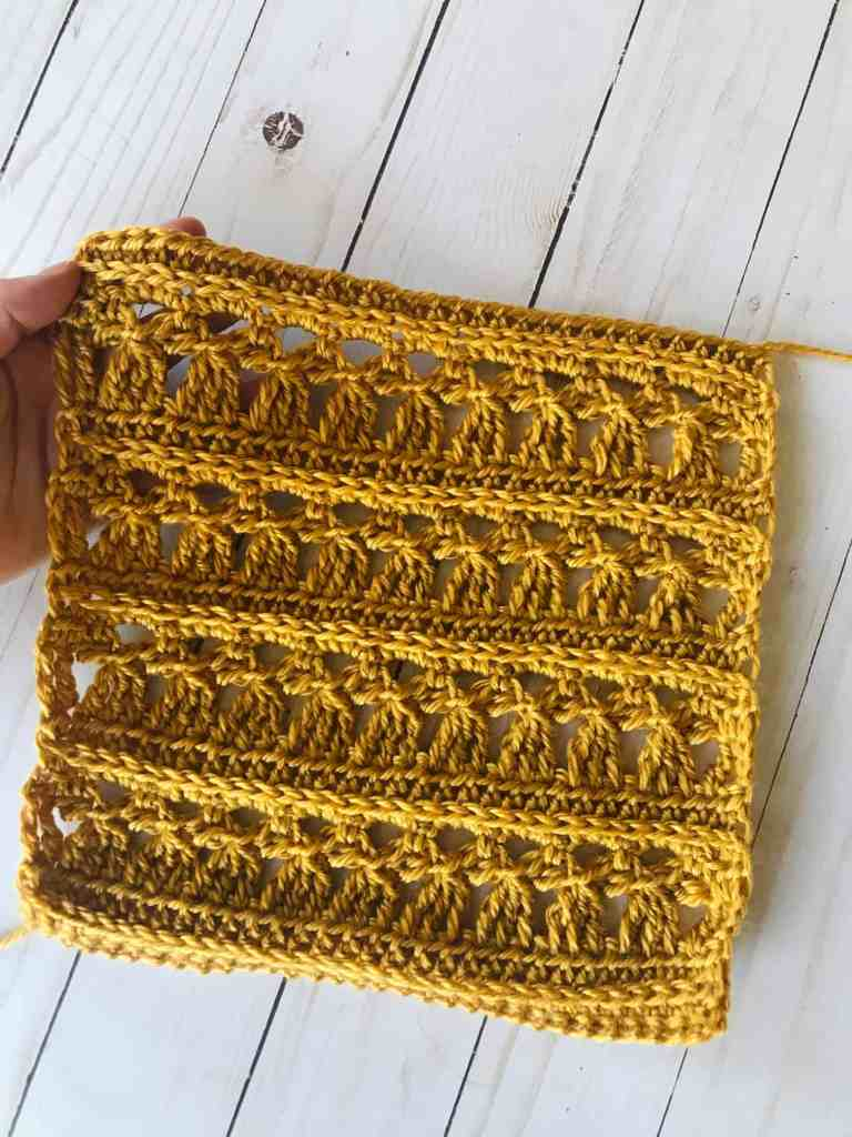 little angels crochet blanket square