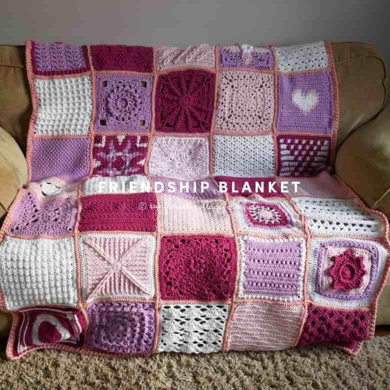 friendship crochet blanket