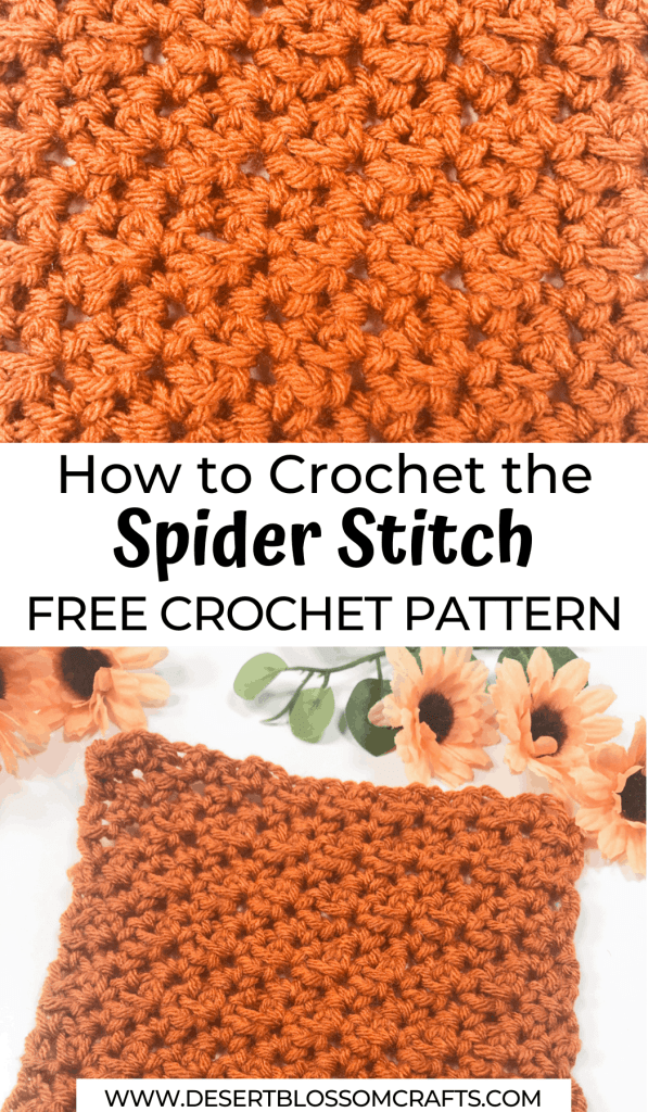 spider stitch pin