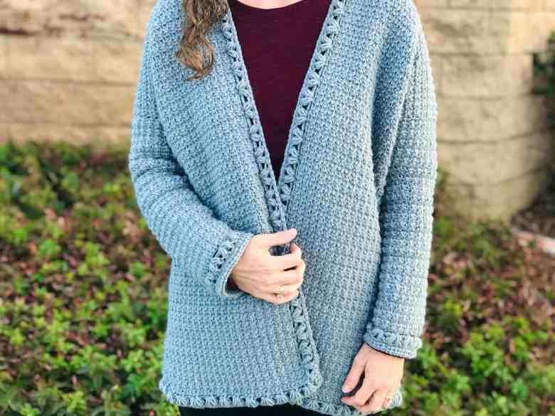 crochet pattern for oversized sweater
