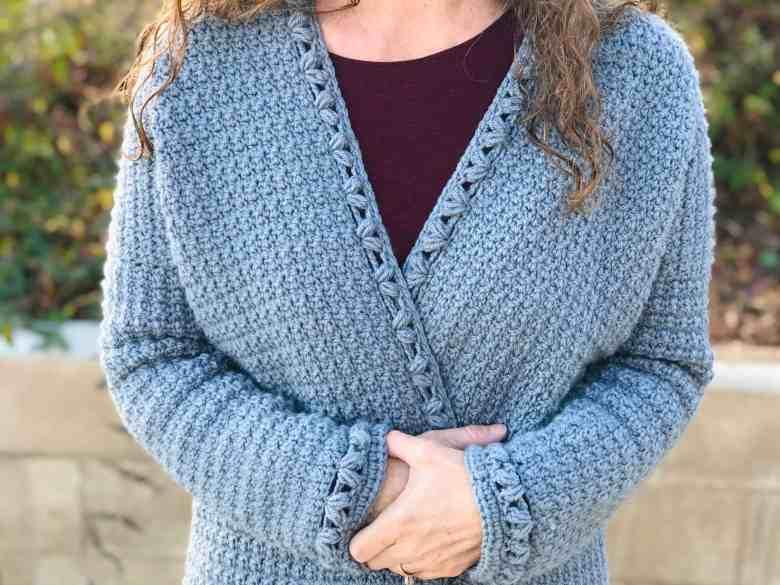 Oversized Cardigan crochet pattern