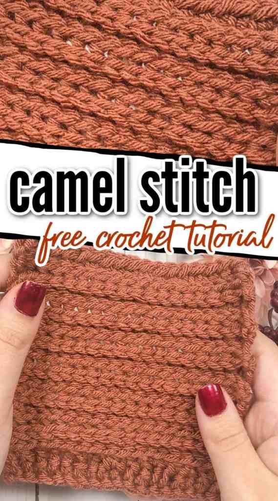 Camel Stitch Crochet Tutorial - Knit-Look Crochet Stitch!