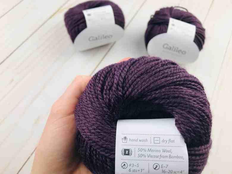 Galileo spring yarn