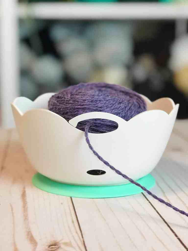 Valet Plastic Yarn Bowl