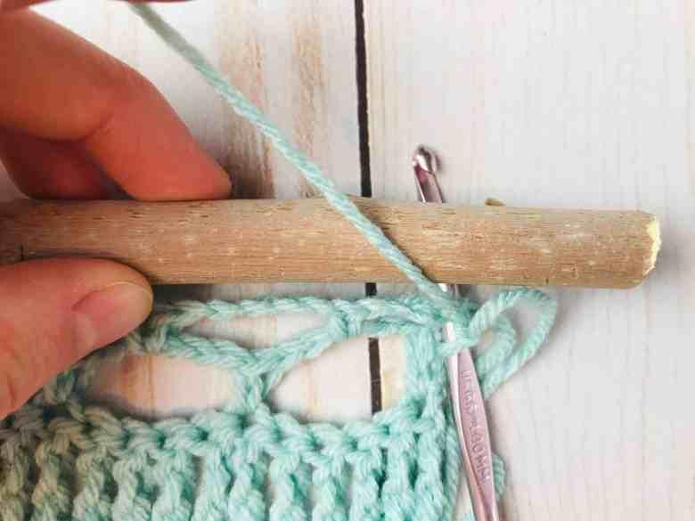 crochet wall hanging tutorial