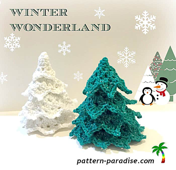 Winter Wonderland Crochet Tree