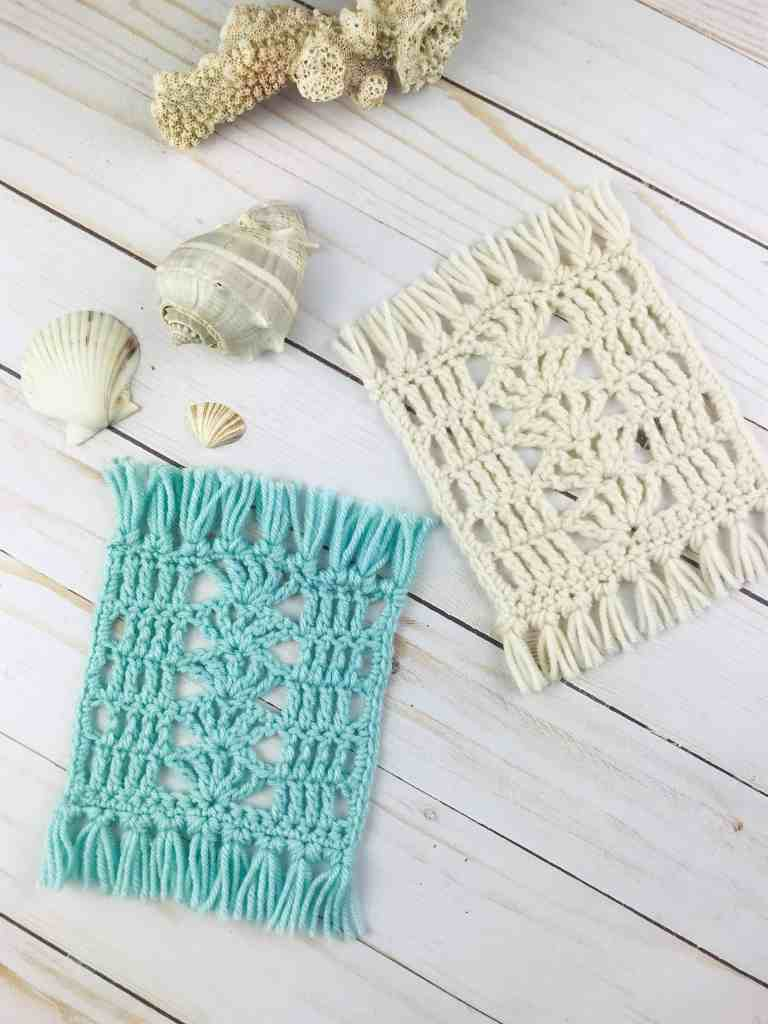 Free Mug Rug Crochet Pattern