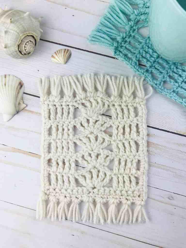 Easy Crochet Mug Rug