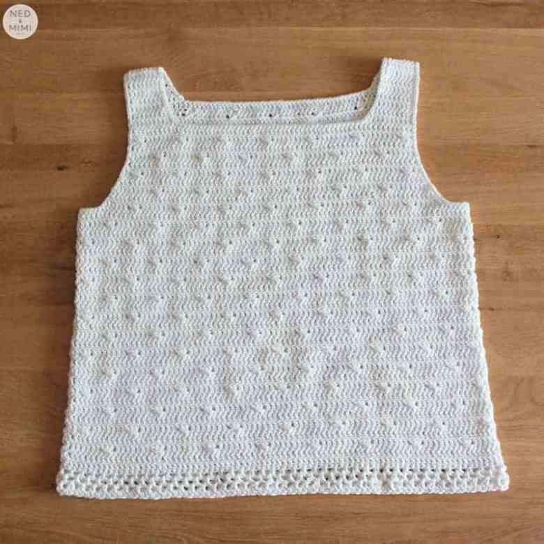 Twinkle Crochet Tank Top