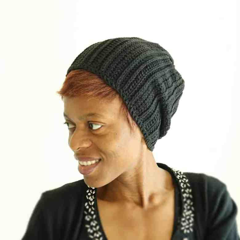Simple Slouchy Hat Crochet Pattern
