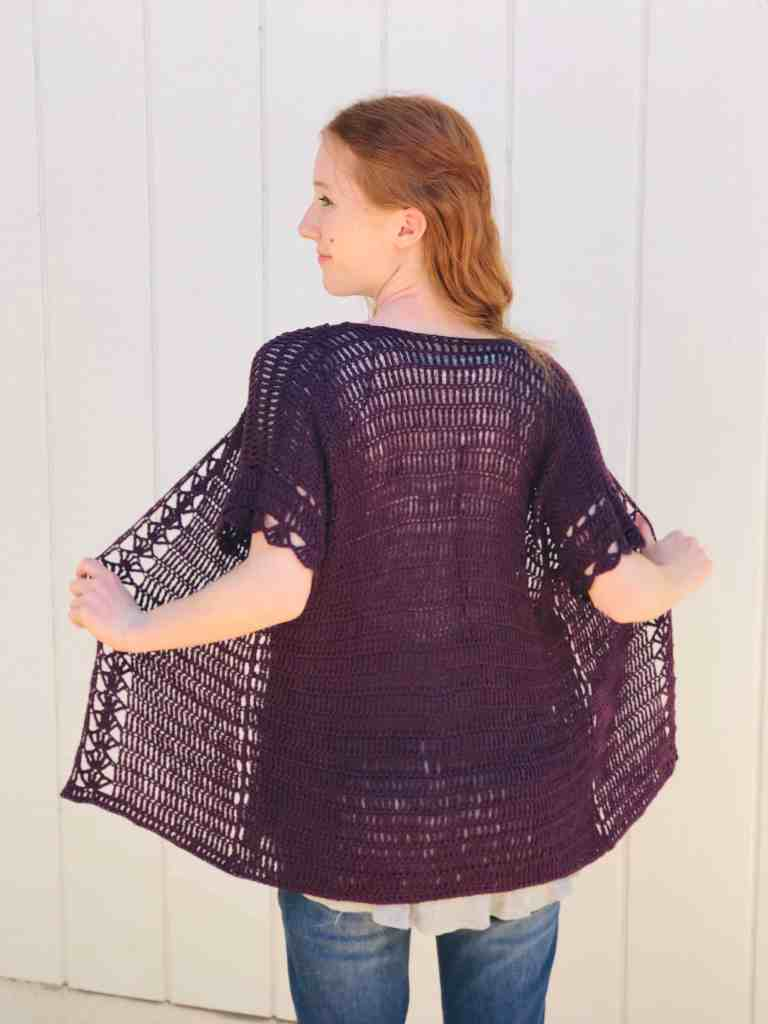Mid-Summer Crochet Cardigan Pattern (FREE!)
