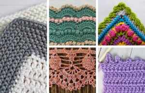 20+ Crochet Border Patterns for a Professional Finish