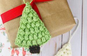 Crochet Flat Christmas Tree Pattern