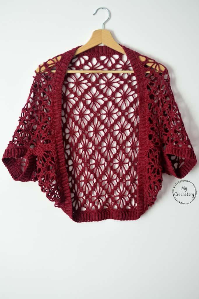 Lacy Crochet Shrug Pattern