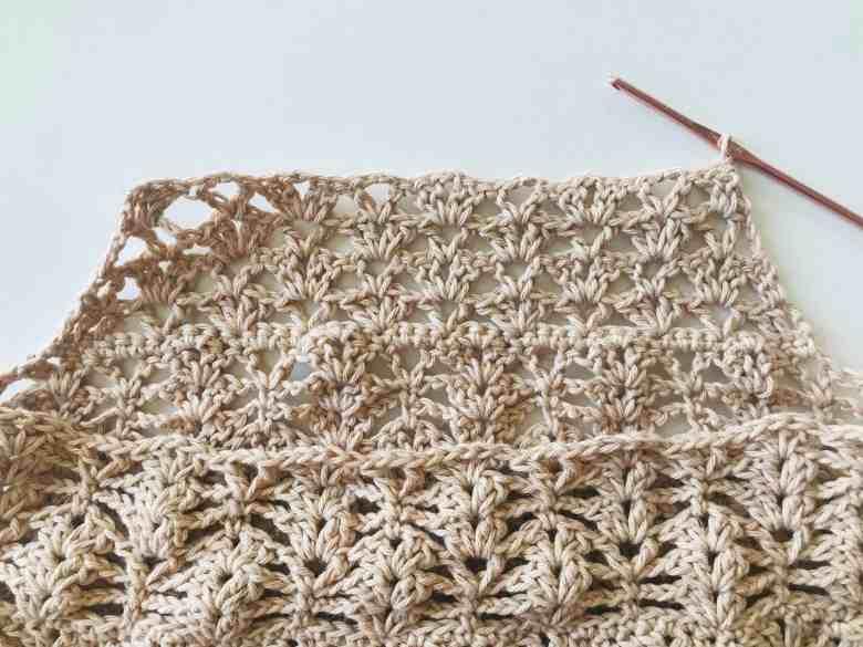 crochet grocery bag photo tutorial