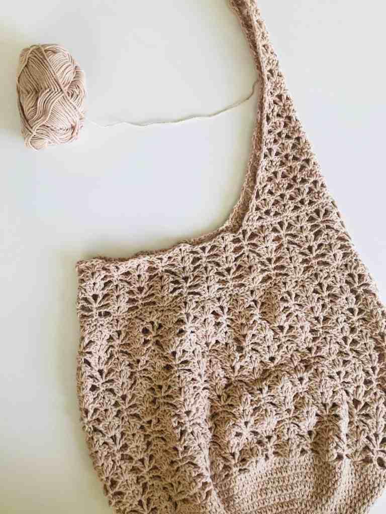crochet market bag tutorial