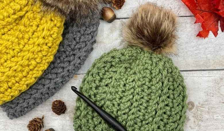 Wool Ease Thick & Quick Beanie pattern