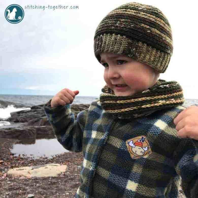 Boys crochet scarf pattern