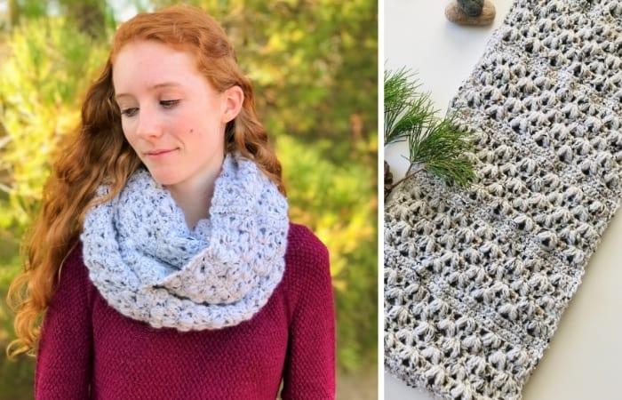 Crochet Infinity Scarf Pattern - Free!