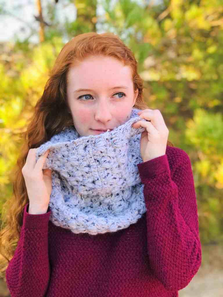 infinity scarf crochet Christmas gift