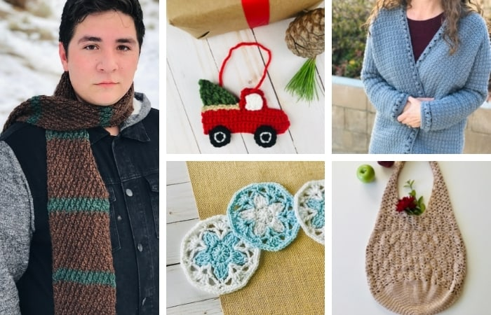 35 Crochet Christmas Gifts - Ideas for Family & Coworkers
