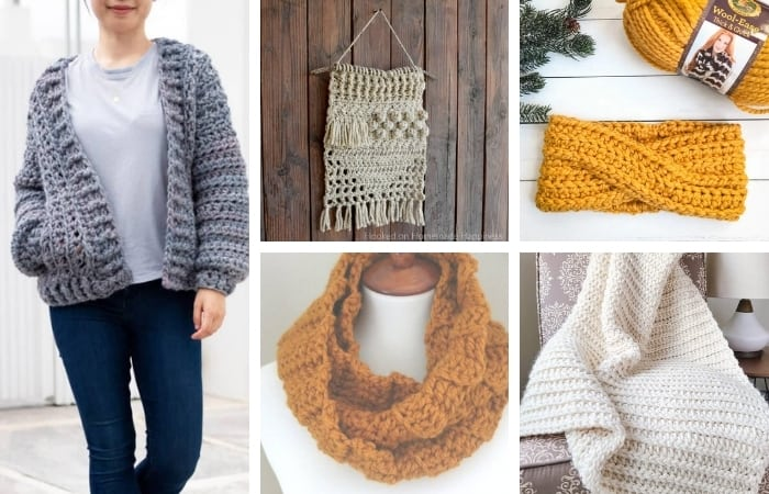 Wool Ease Thick & Quick Crochet Patterns