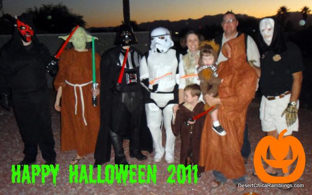 Star Wars Family Costume Theme