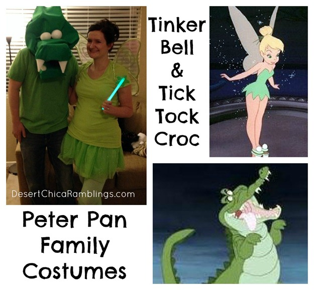 Tinker Bell And Tic Tock Croc
