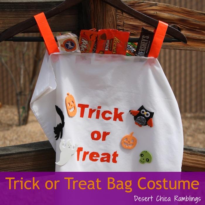 Trick or Treat Bag Costume Pinterest