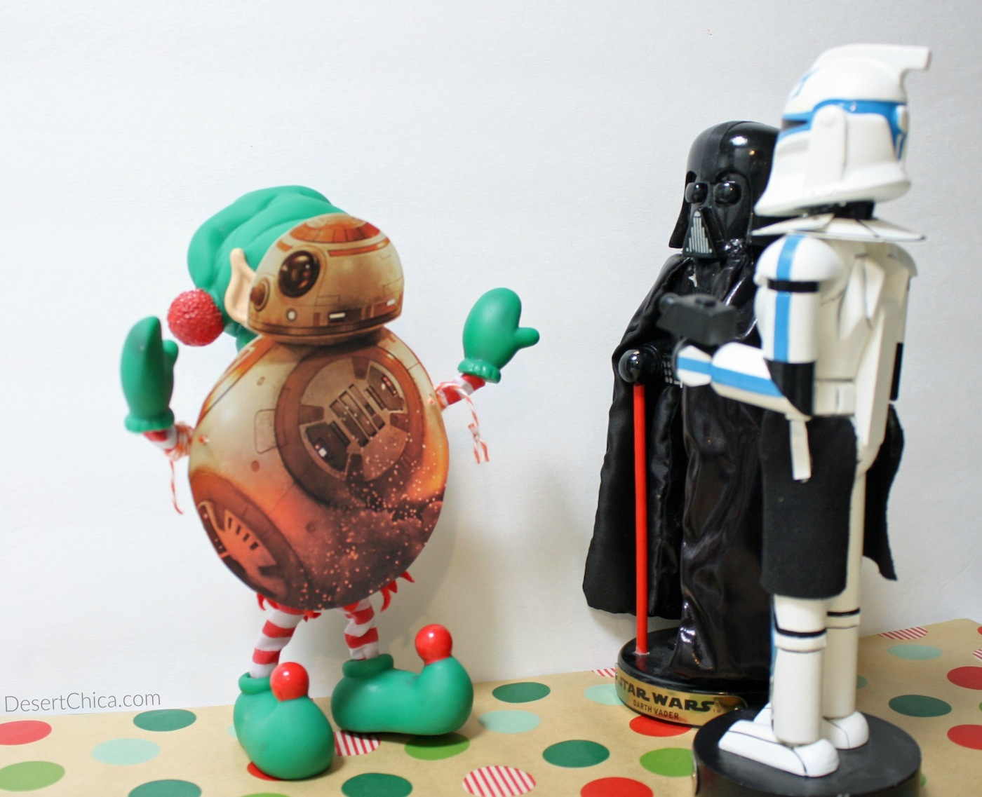 Print a BB-8 Star Wars costume for your elf on the shelf