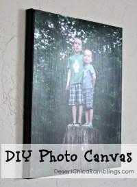 DIY Photo Canvas {Gift Idea} | Desert Chica