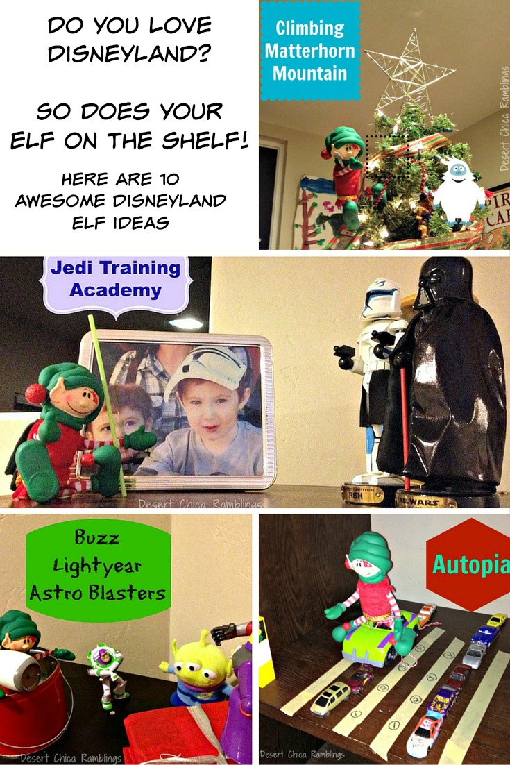Disneyland Elf Ideas