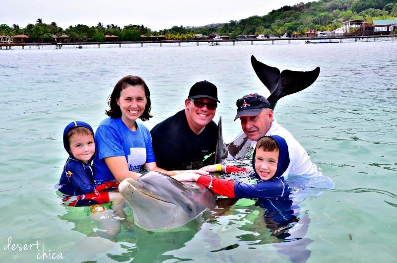 Holding Dolphin at Anthony's Key Resort.jpg