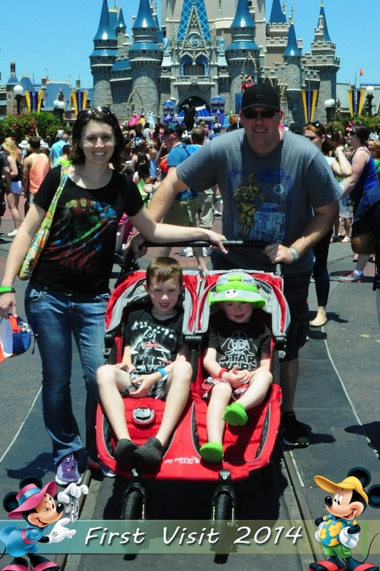 Walt Disney World Double Stroller