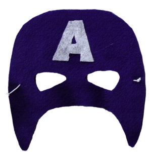 DIY Captain America Mask Template