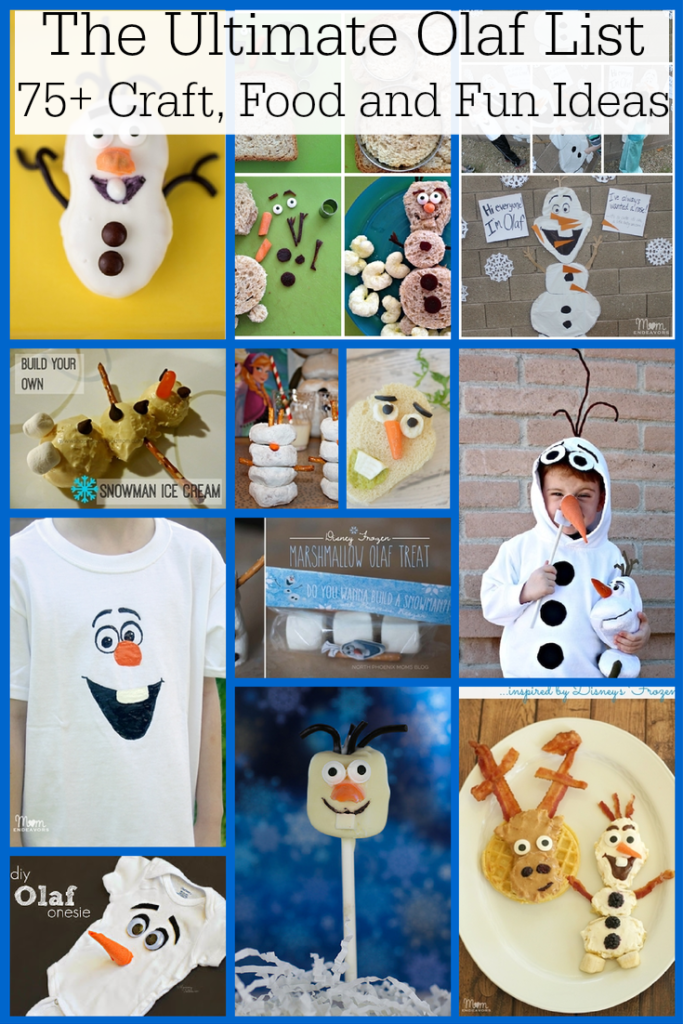 The Ultimate Olaf List of Party Ideas