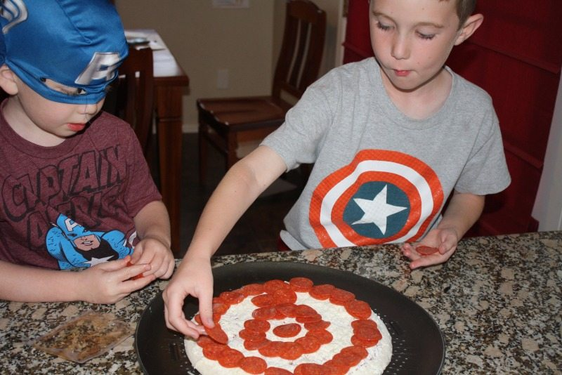 Captain America Pizza #shop