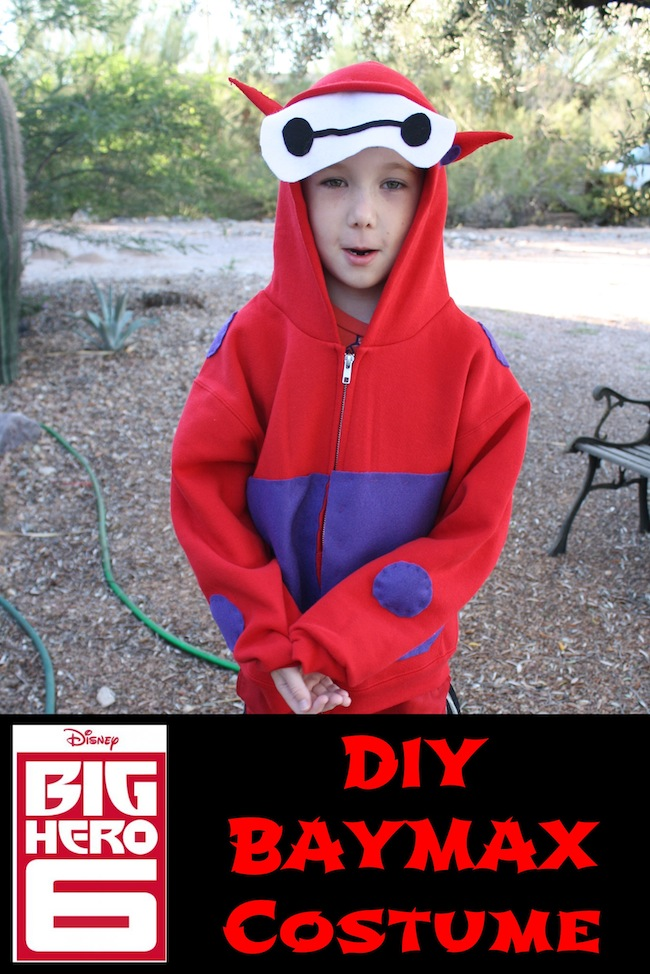 DIY BayMax Costume