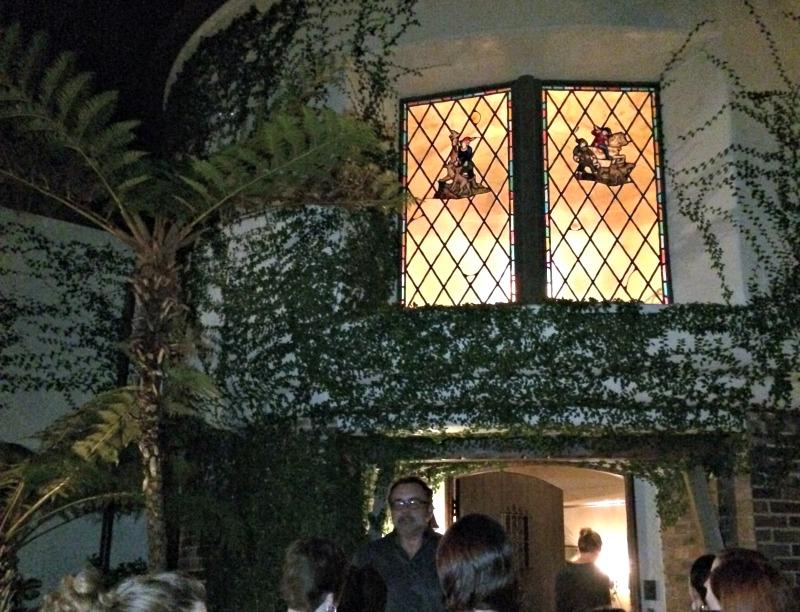 Walt Disney's House outside night