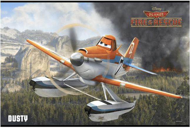 Dusty Planes #FireandRescue #DisneyInHomeEvent