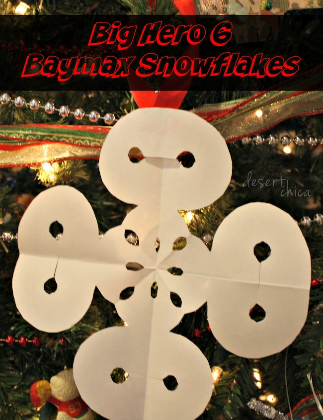 Big Hero 6 Baymax Snowflakes