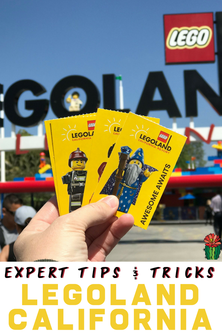 Headed to LEGOLAND California in 2018? Read these tips and secrets including what extra outfit to pack, food ideas, how to avoid long lines on rides and how to decide if you need a park hopper for the LEGO water park!