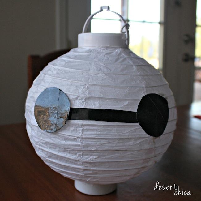 Baymax Paper Lantern