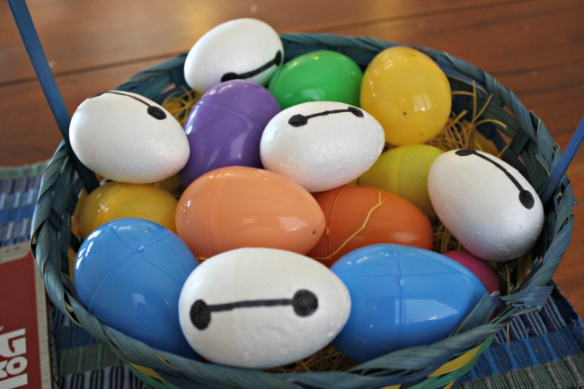 Baymax easter eggs basket