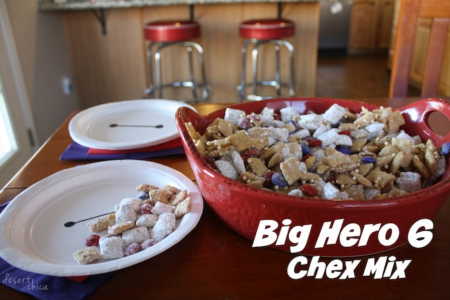 Big Hero 6 Chex Mix