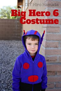 Big Hero 6 Costume DIY Hiro Costume